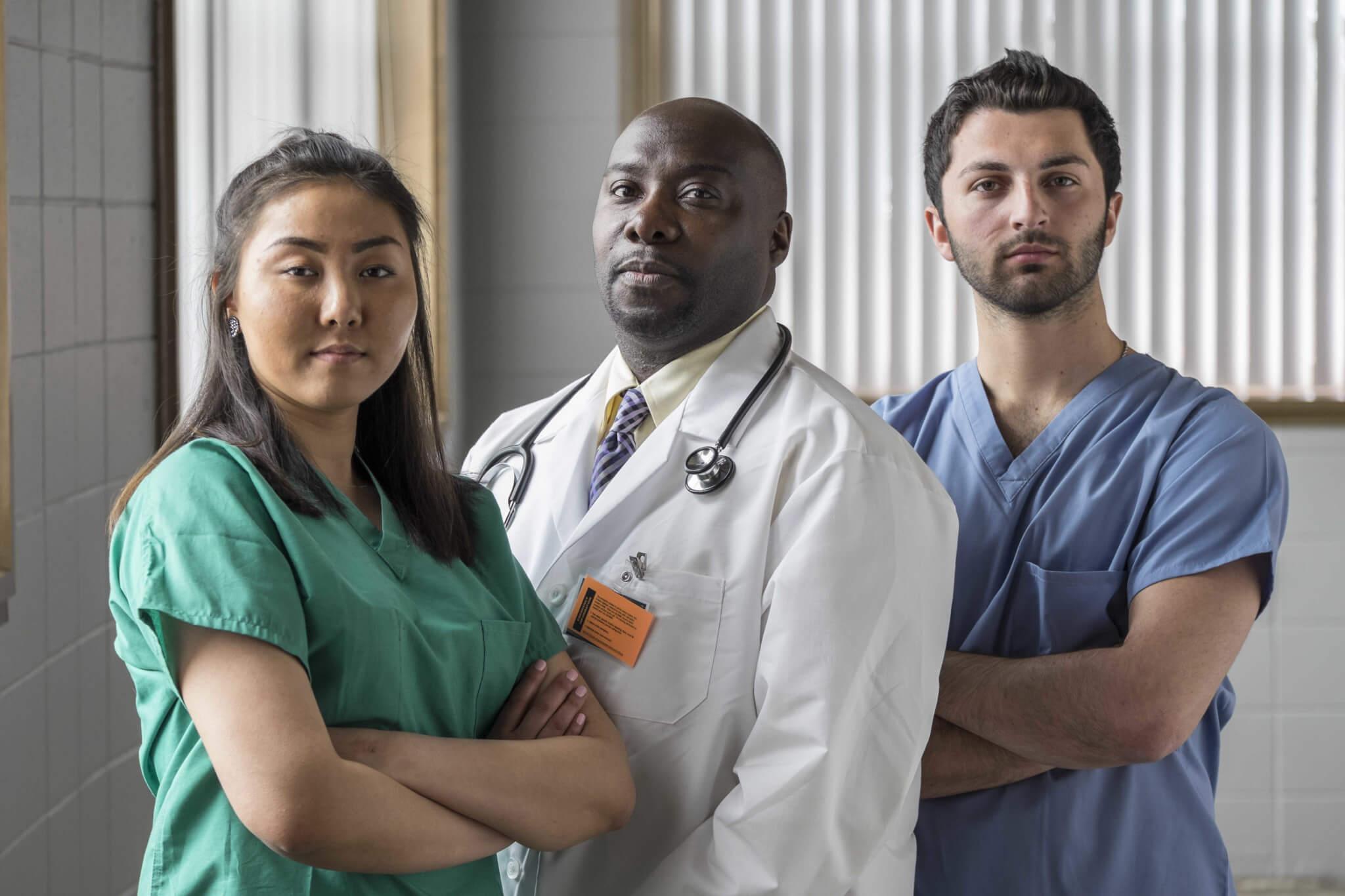 Doctors dealing with patient bias and prejudice